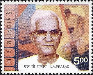 L. V. Prasad Indian actor, director, producer