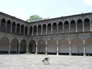 La Merced Cloister - Patio of the La Merced Cloister