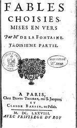 Jean de La Fontaine: Fables, deuxième recueil: livres vii, viii