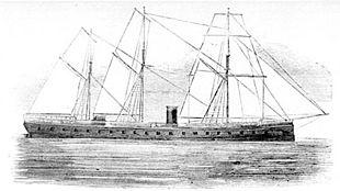 La Gloire, la prima nave da battaglia corazzata (1860)