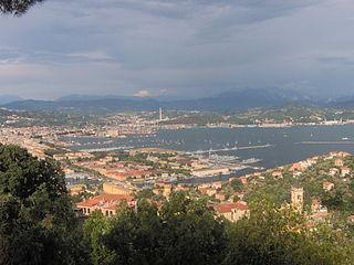 La Spezia Comune in Liguria, Italy