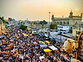 Lad Bazaar as seen from charminar.jpg