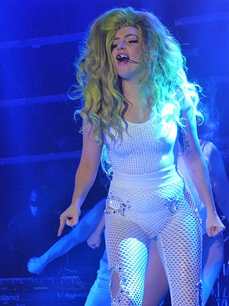 "Artpop - Gaga performing ""G.U.Y."" during her residency show, Lady Gaga Live at Roseland Ballroom"