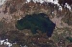 The basin of Lake Valencia