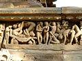 Lakshmana Temple Western Group of Temples Khajuraho India - panoramio (19).jpg