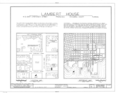Lambert House, 412 East Zaragoza Street, Pensacola, Escambia County, FL HABS FLA,17-PENSA,24- (sheet 1 of 6).png