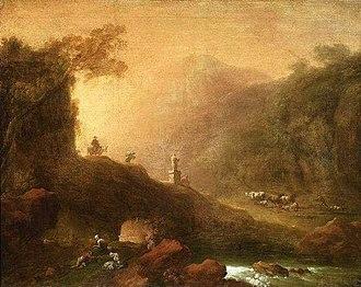 Franciszek Ksawery Lampi - Image: Lampi Romantic scenery