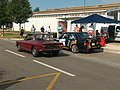 Lancia Fulvia & BMW M3 Rallye (24402324647).jpg