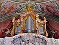 Landsberg Ursulinenkirche Innen Orgel.JPG