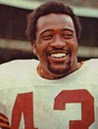 Larry Brown (running back) - Brown in 1973
