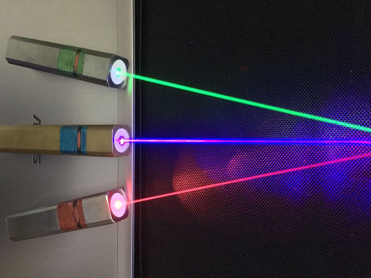 grön laser våglängd
