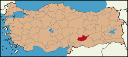 Latrans-Turkey location Adıyaman.svg