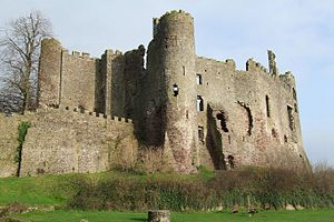 Laugharne - Laugharne Castle