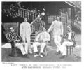 Lawn tennis at the UniversitiesThe Oxford and Cambridge singles teams 1896.png