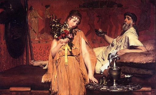 Lawrence Alma-Tadema Between Hope and Fear
