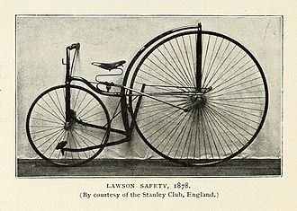 Harry John Lawson - Lawson's Safety 1878