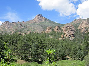 Lost Creek Wilderness - Granite rock formations define the wilderness