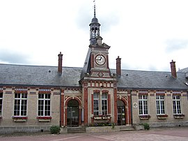 The town hall in Le Perray-en-Yvelines