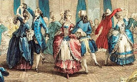 French aristocrats, c. 1774 Le bal pare.jpg