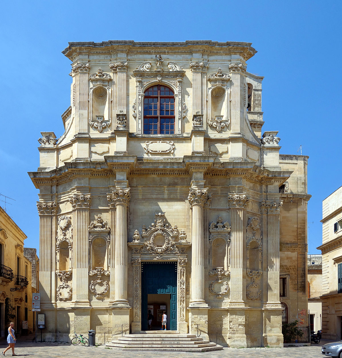 Risultati immagini per Chiesa di Santa Chiara Lecce