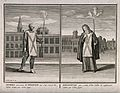 Left, a man convicted of heresy in the Spanish Inquisition; Wellcome V0041637.jpg