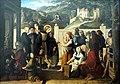 Leipzig, Museum der bildenden Künste, Julius Schnorr von Carolsfeld, Hl. Rochus, Almosen verteilend.JPG