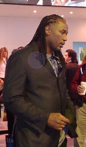 Lennox Lewis - Lewis in 2008