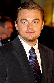 Leonardo DiCaprio by die primière van Body of Lies in Londen.