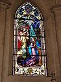 Les Paroches (Meuse) Église de l'Invention-de-Saint-Étienne vitrail 02.JPG