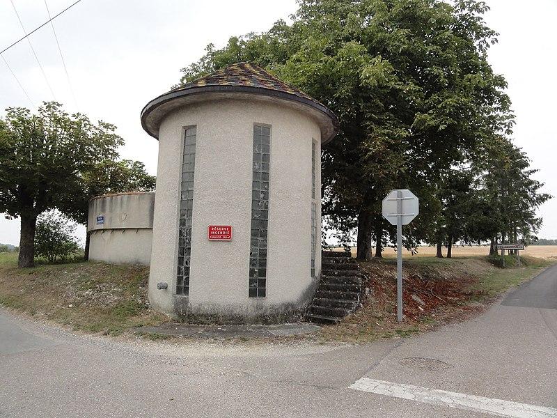 Les Souhesmes (Les Souhesmes-Rampont, Meuse) château-d'eau Souhesme-la-Grande
