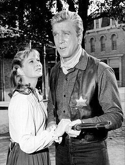Leslie Nielsen Nancy Malone Bonanza 1967