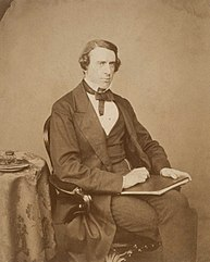 Photo of her father, Leslie Stephen in 1860