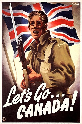 Military history of Canada during World War II - Let's Go Canada! by Henri Eveleigh 1939–1945