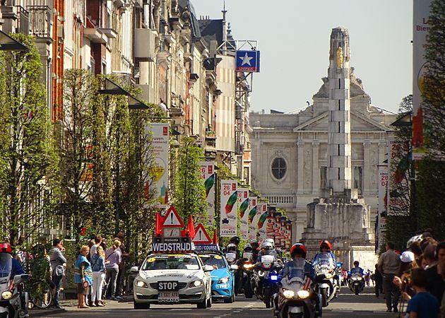 Leuven - Brabantse Pijl, 15 april 2015, vertrek (D01).JPG