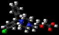 Levocetirizine 3D ball.png