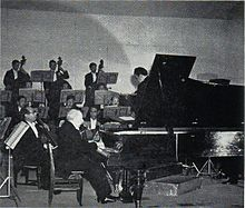 Levy with Nippon Symphony Orchestra 1950.JPG