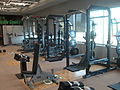 Lifting stations in gym at Graham Huskies Clubhouse.jpg