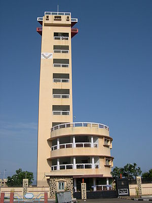 Lighthouse, Chennai - The present lighthouse in Chennai