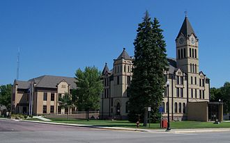 Canton, South Dakota - Lincoln County Courthouse.
