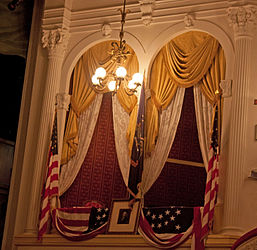 Lincoln box at Ford's Theatre, Washington, D.C. 2.jpg