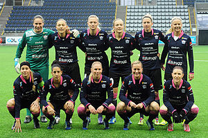 Linköpings FC - Linköpings FC team in November 2014
