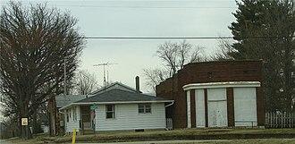 Linnsburg, Indiana - Image: Linnsburg sky