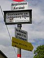 Linz-Pöstlingberg - Hinweisschild Wanderweg 140 Richtung Giselawarte am Lichtenberg.jpg