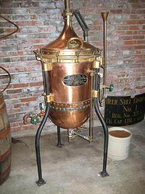 Drink - An old whiskey still