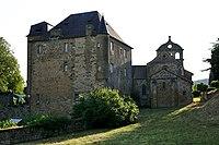 Lissac-sur-Couze - Château et église.jpg