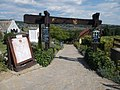 Listed wine cellar and restaurant, gate in Egregy, 2016 Hungary.jpg