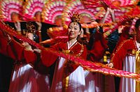 Little Angels Dancers performing Buchaecum in Seoul.jpg
