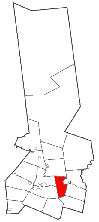 Little Falls (town), New York - Location of town in Herkimer County