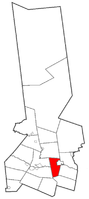 Location of town in Herkimer County