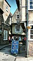 Little Shambles in York - Tea Room to the right - geograph.org.uk - 2356772.jpg